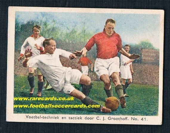1930s Groothoff Arsenal Liverpool Dutch